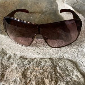 Guess Brown Embellished Sunglasses